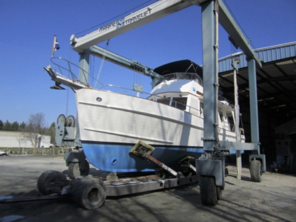 Outdoor Boat Storage