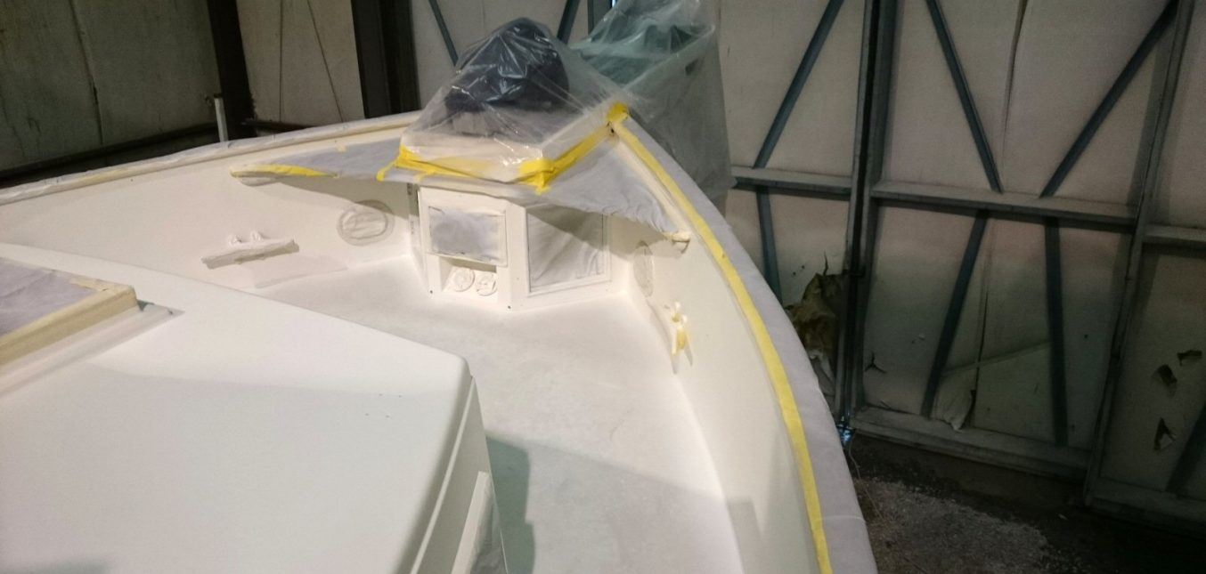 Grand Banks 42 Renovation