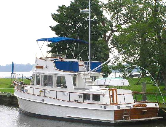 Grand Banks 36 Specifications