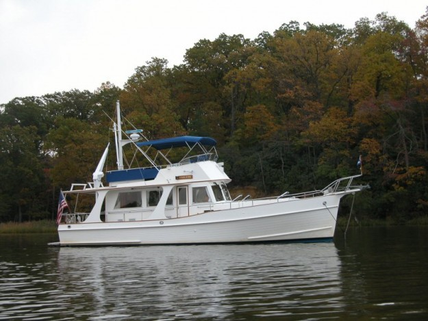 Grand Banks 42 Europa Specifications