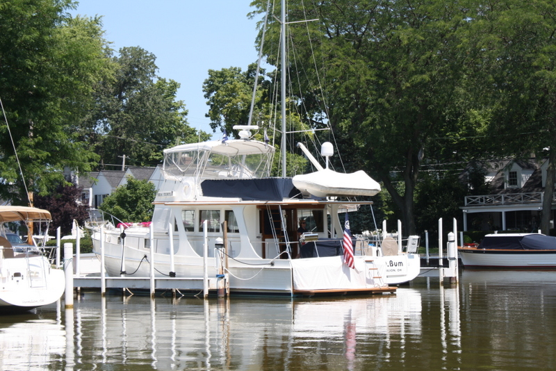 Grand Banks 46 Europa Specifications | Oxford Yacht