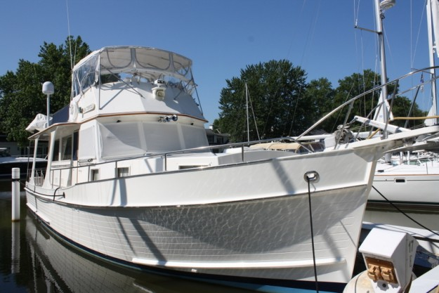 Grand Banks 46 Europa Specifications