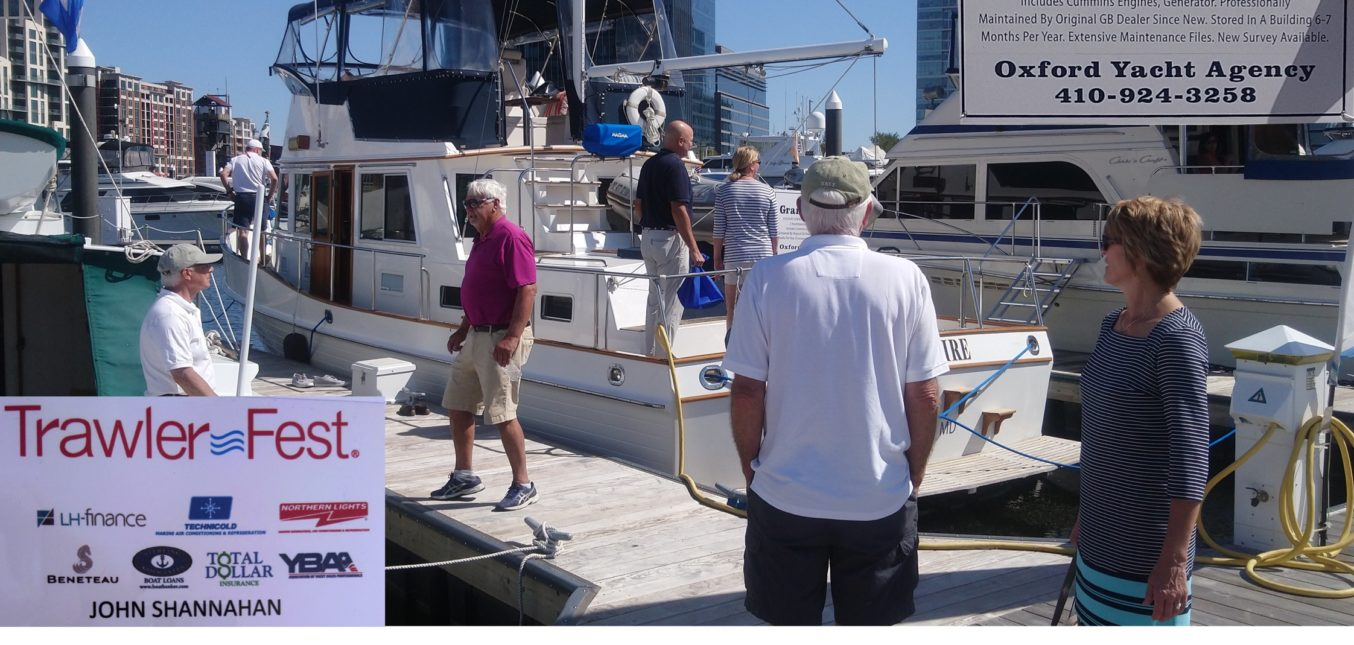 Lena Victoire Grand Banks 42 Classic For Sale at Trawler Fest 2019